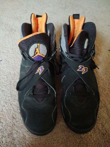 Jordan 8 Phoenix Suns Shoes Size 11