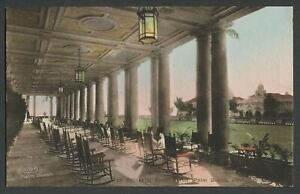 Palm-Beach-FL-c-1920s-30s-Hand-Colored-Foley-Postcard-THE-BREAKERS-SOUTH-PORCH