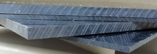 "Machine grade Black smooth ABS plastic sheet 1//4/"""