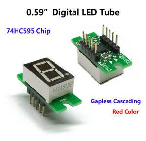 0-56-034-74HC595-1-bit-Red-Digital-Tube-Digit-LED-Display-Module-5v-for-AVR-Arduino