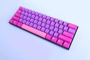 KBPardise Type R Pink & Purple Dream 60% Esports Gaming Keyboard