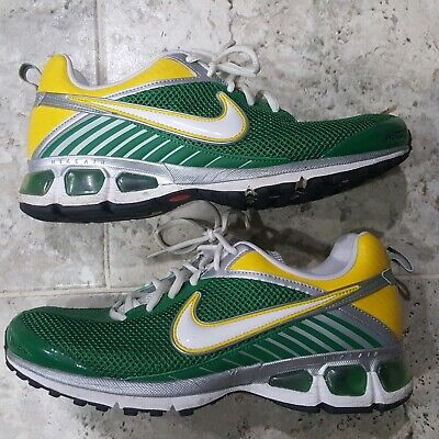 nike shoes green and yellow