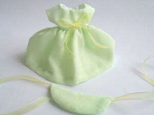 Ginny-8-034-Doll-Clothes-Handmade-Pastel-Green-039-Justine-039-Dress-and-Hat
