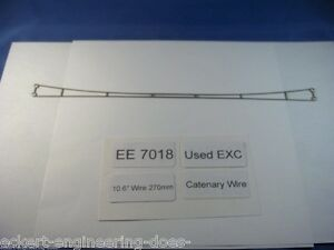 EE-7018-EXC-Marklin-HO-Catenary-Wire-7018-10-6-034-270-mm-long-Excellent-Used-Pk-5