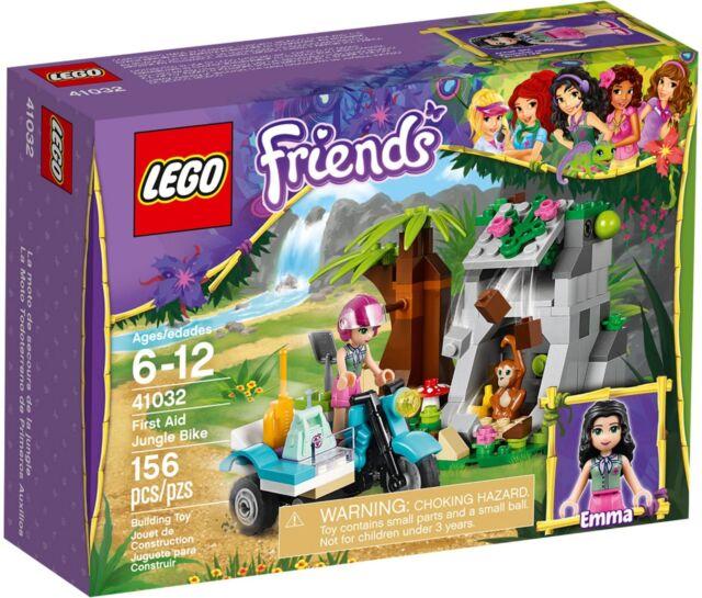 LEGO Friends 41032 First Aid Jungle Bike BNIB Emma figure monkey scooter cave
