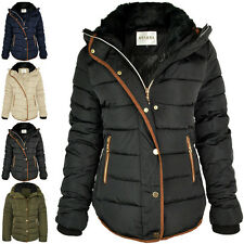 017be4bd44c item 5 WOMENS LADIES QUILTED WINTER COAT PUFFER FUR COLLAR HOODED JACKET  PARKA SIZE NEW -WOMENS LADIES QUILTED WINTER COAT PUFFER FUR COLLAR HOODED  JACKET ...