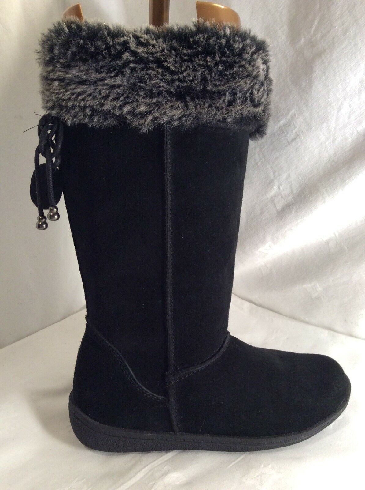 HOBOS Ladies Leather Mid Calf Boots Size 6