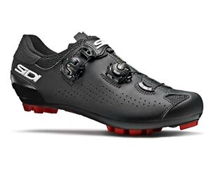 NEW 2020 Sidi TRACE 2 Mountain Bike MTB Shoes BLACK//BLACK