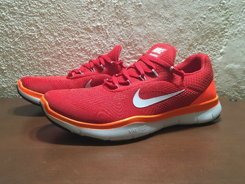 Nike Free Trainer V7 898053 800 Crimson Red size Orange size Red 8.5 NEW Training Shoes 27e52a