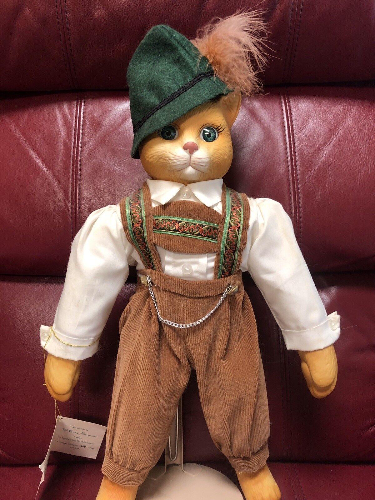 GOEBEL  WOLFGANG BEERuomo GERuomo CAT bambola  vendita di offerte