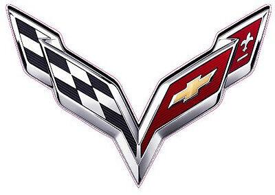 "Cadillac Emblem Large Decal 12/"" x 12/"""