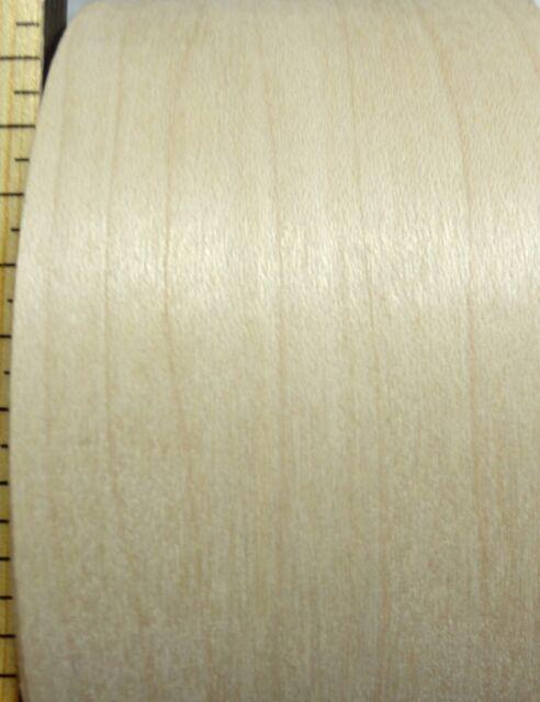 "Maple wood veneer edgebanding roll 3/"" x 120/"" with preglued hot melt adhesive"