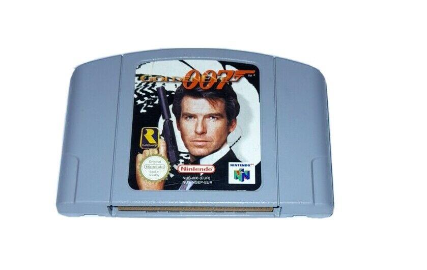 Goldeneye 007 James Bond Nintendo 64 N64 PAL UK Cart Only **FREE UK POSTAGE**