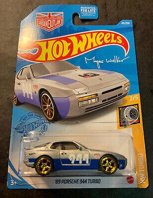 Hot Wheels LOOSE Red 1989 /'89 PORSCHE 944 Turbo Custom SUPER w//Real Riders #2