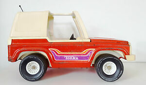 Tonka-Mighty-Original-3986-Adventure-Buggy-1976-Red-Tonka-Jeep-Barbie-Size
