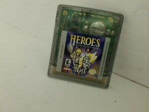 HEROES OF MIGHT AND MAGIC game Gameboy Color Cartridge Only Cleaned & Tested N26