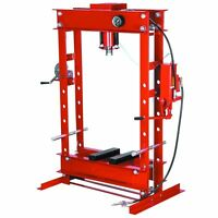 50 Ton Hydraulic Heavy Duty Floor Shop Press 2 Speed Pump