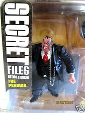 PENGUIN Batman Rogues Gallery Secret Files DC Direct action figure NEW
