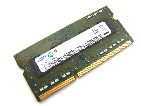 Samsung M471b5273cm0-ch9 4gb 2rx8 Sodimm Pc3-10600s-09-10-d1 Ddr3 Laptop Memory