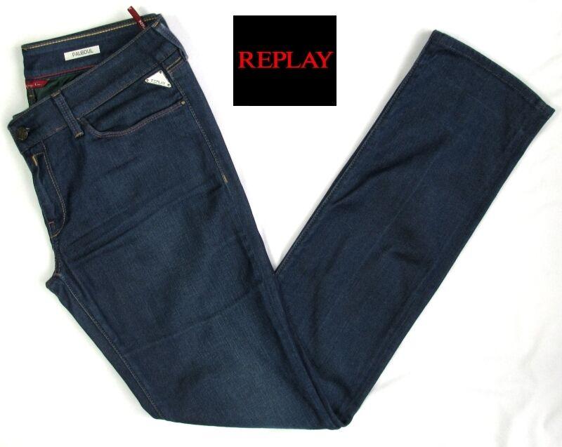 REPLAY - JEAN MODELE PAUBDUL STRETCH COTON blue BRUT W31 L34 - EXCELLENT ETAT