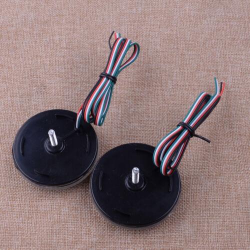 2x LED Rear Bumper Reflector Light Brake For Qashqai Dualis Sienna Corolla Juke