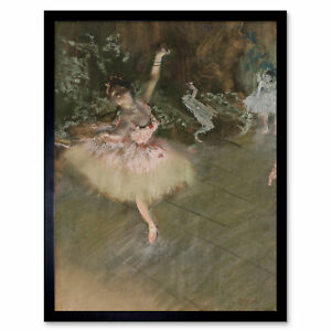 Edgar-Degas-The-Star-Art-Print-Framed-12x16