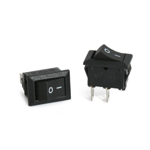 10Pcs 2 Pin 12V Boat Car Round Dot Light ON//OFF Rocker Toggle Switch Tool Set