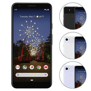 Google Pixel 3a XL Smartphone 64GB Unlocked Just Black Clearly White Purple-ish