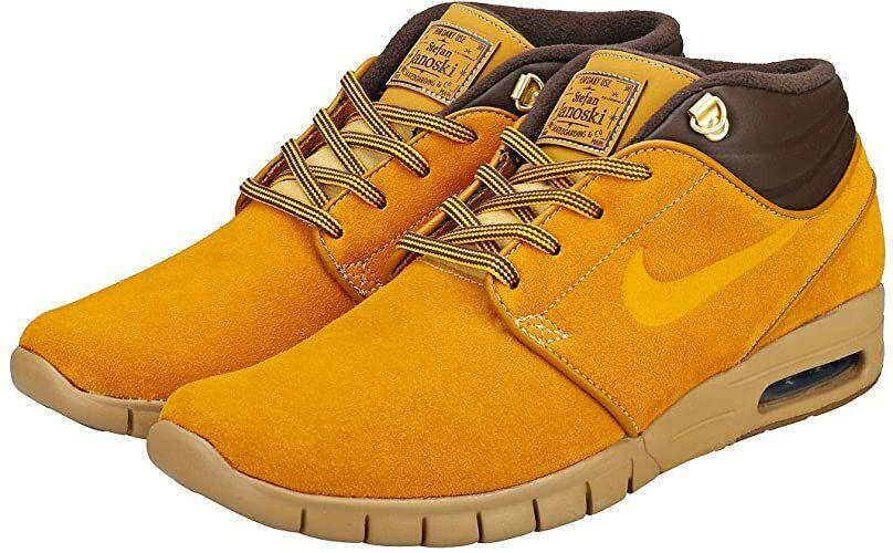 Size 9 - Nike SB Stefan Janoski Max Mid Premium Bronze for sale ...