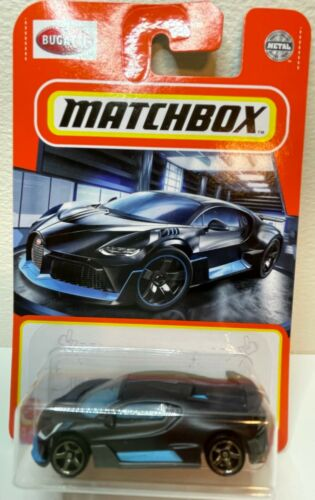 Matchbox 2021 *NEW* 2018 Bugatti Divo super car die-cast metal toy car MIP