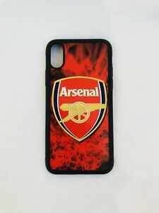 Details About Arsenal Fc Iphone Xs Max Rubber Case Aluminium Cover Perfect Fitted Brand New
