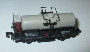 Arnold-4525-Kesselwagen-mit-Brhs-2-achsig-grau-034-Rheinische-Stahlwerke-034-gt-Top