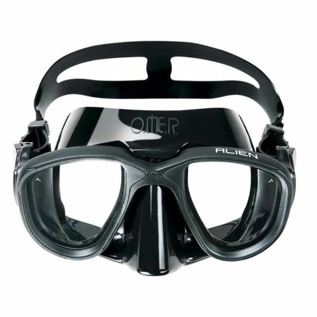 OMER Slalom Snorkel Black//Grey Silicone