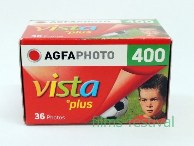 5 rolls Agfaphoto Vista Plus 400 Color Film 35mm 36exp Agfa