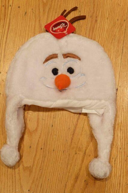 8bfdabfd429 Disney Frozen Olaf Winter Soft Plush Beanie Ski Cap Laplander Hat Adult  Child