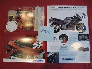 N°4301 / Suzuki : Gsx 1100 F Dépliant Octobre 1992 Xrvmir9x-08010734-729258977