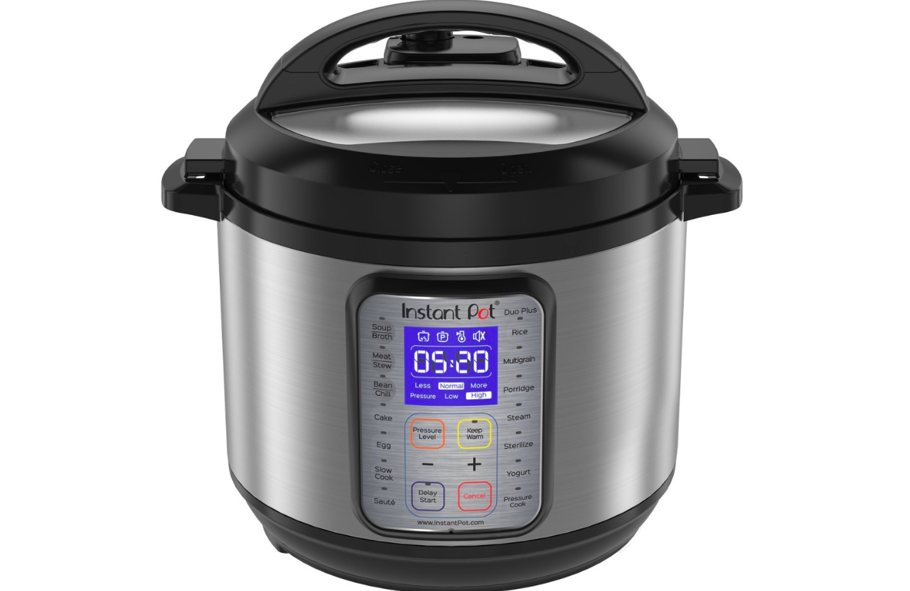 Instant Pot DUO Plus 6 QT 1 en 9-Multi-usage programmable Autocuiseur, lente