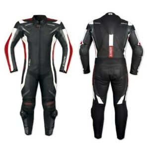 Full Suit Motorcycle Skin Professional Perforated Ce Protectors Summer Red