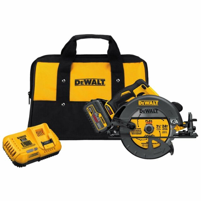 DEWALT DCS575T1 FLEXVOLT 60V Li-Ion Cordless Brushless 7-1/4 in.Circular Saw Kit