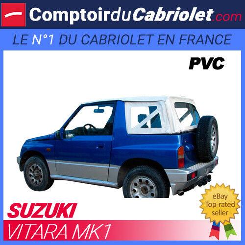 Capote Blanche 4x4 Suzuki Vitara MK1 cabriolet en PVC