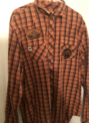 Winchester Western Embroidered Men's 2XL Long slee