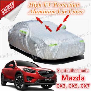 Premium-Semi-Tailor-Made-UV-Waterproof-Aluminum-Car-Cover-SUV-Mazda-CX3-CX5-CX7