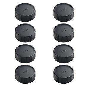 8-PCS-Rueckseite-Objektiv-Kappe-fuer-Leica-M-Mount-DSLR-Ersatz