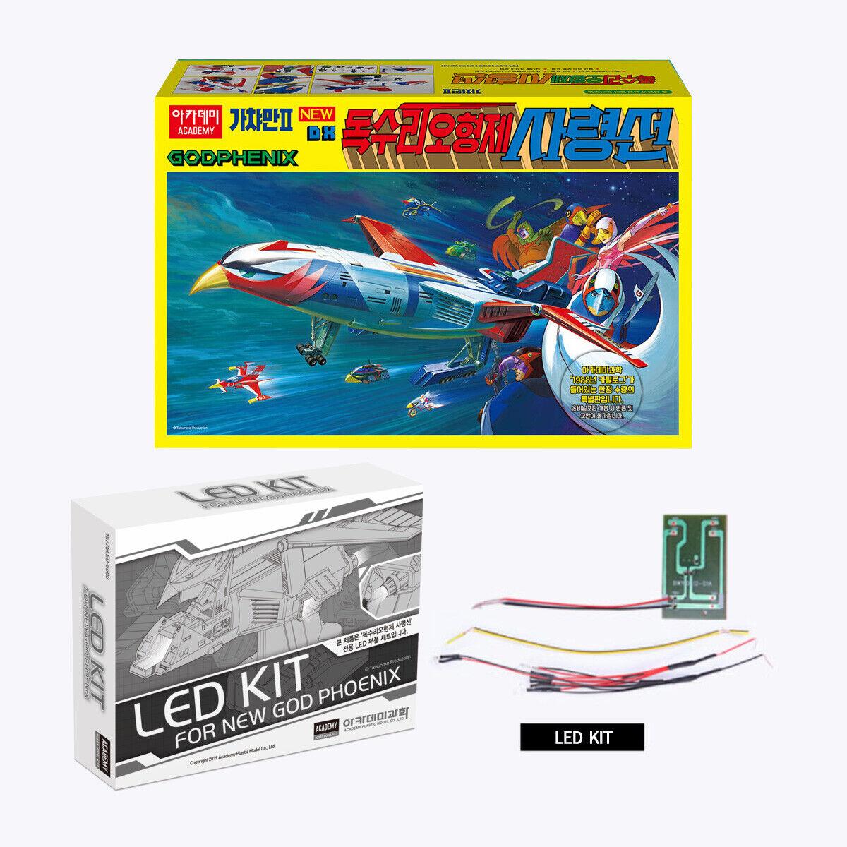 15776 Science Ninja Team Gatchaman 2 New GodPhenix With LED Kit