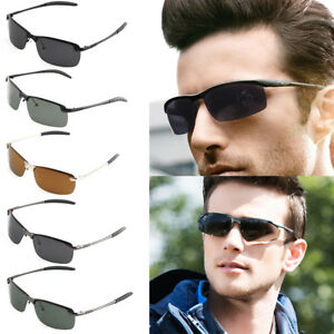 New-100-UV400-Men-039-s-Polarized-Driving-Outdoor-Sports-Sunglasses-Fashion-Glasses
