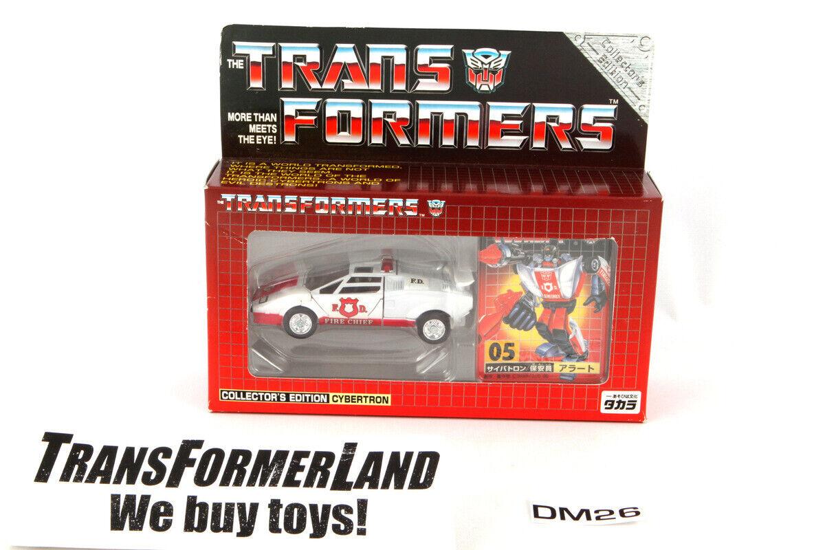 Alerta Sellado sin usar y en caja sellada en perfecto estado en Cochetón sellado Autobots Collectors Edition Reedición Transformers