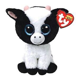 """Rainbow Owl 6/"""" Ty Beanie Boos Puppy Glitter Big Eyes Plush Stuffed Animals Toy"""