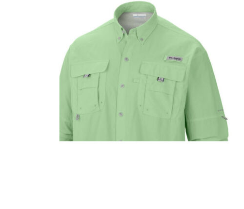 XS-S-M-L-XL-2XL NEW COLUMBIA Men's PFG BAHAMA II Long Sleeve Fishing Shirts