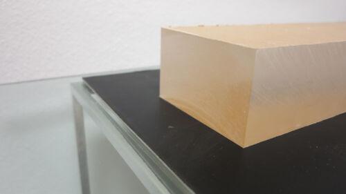 "CELL CAST ACRYLIC PLEXIGLASS SHEET//BLOCK//SLAB CLEAR 3/"" X 4/"" X 4/"" 3 INCH THICK"