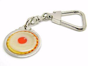 Handmade Novelty Cherry Bakewell  Keyring//Bag Charm